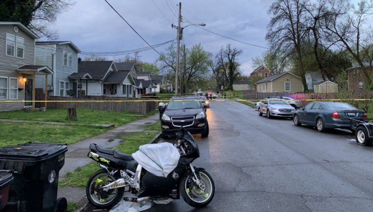 Fatal Park Hill Shooting Motorcycle - 4-12-19
