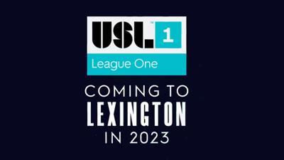 USL League One announces new team in Lexington in 2023