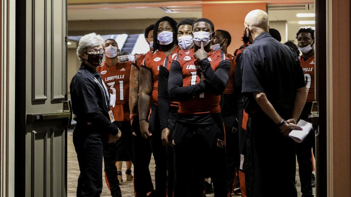 Louisville players kickoff luncheon
