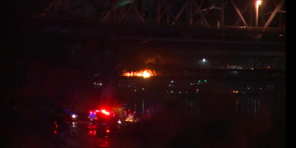 Brent Spence Bridge Fire