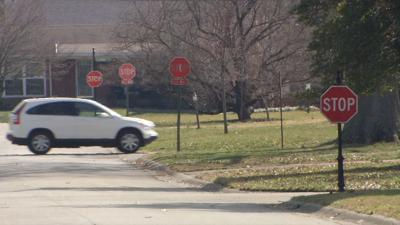 Drivers running stop signs on Winchester Road