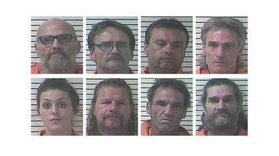 8 people arrested in Hardin County on numerous drug charges