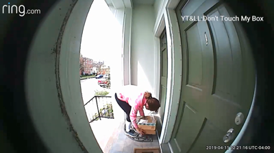 Louisville homeowner fools porch pirates with clever 'bait