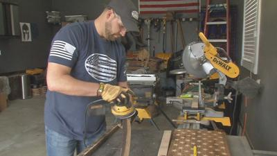 Shepherdsville veteran gives new purpose to old bourbon barrels