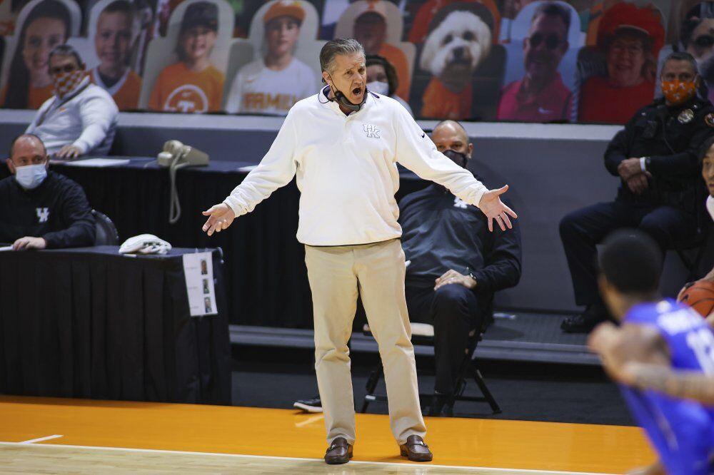 Kentucky head coach John Calipari
