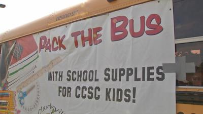Public asked to 'Pack the Bus' with supplies for Clarksville students