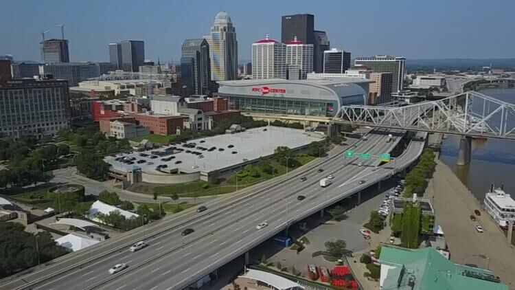 Downtown Louisville, Ky.