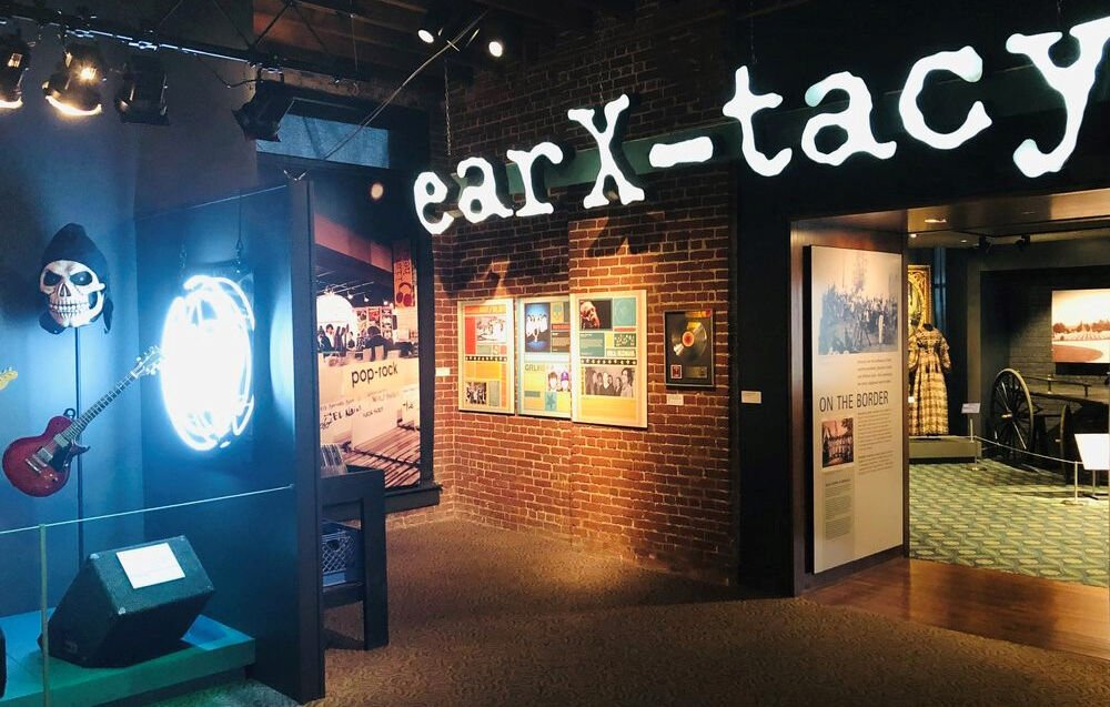 ear X-tacy exhibit at Frazier History Museum