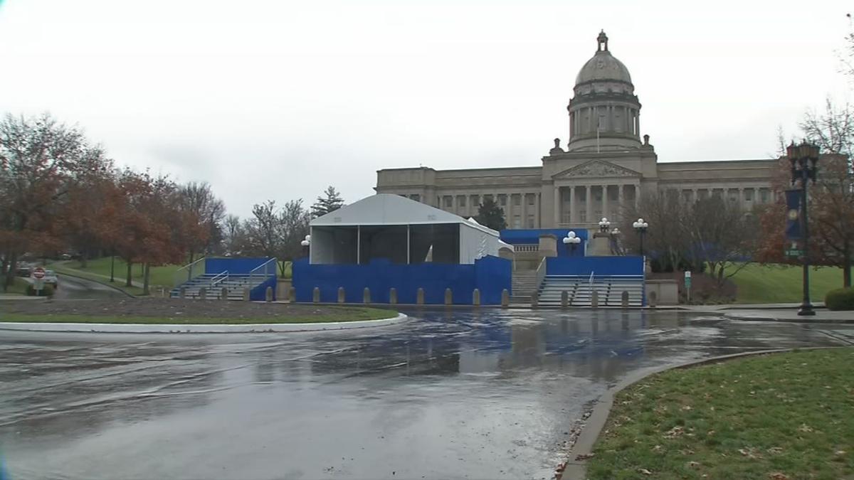 Inauguration Preps at Capitol