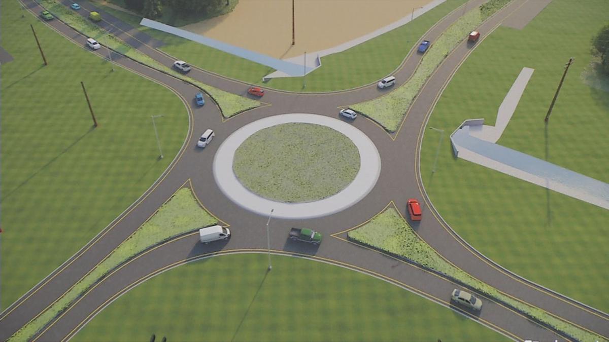 salem roundabout