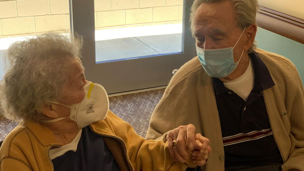 Don and Joyce Hoffman (Indianapolis couple who got the COVID-19 vaccine)