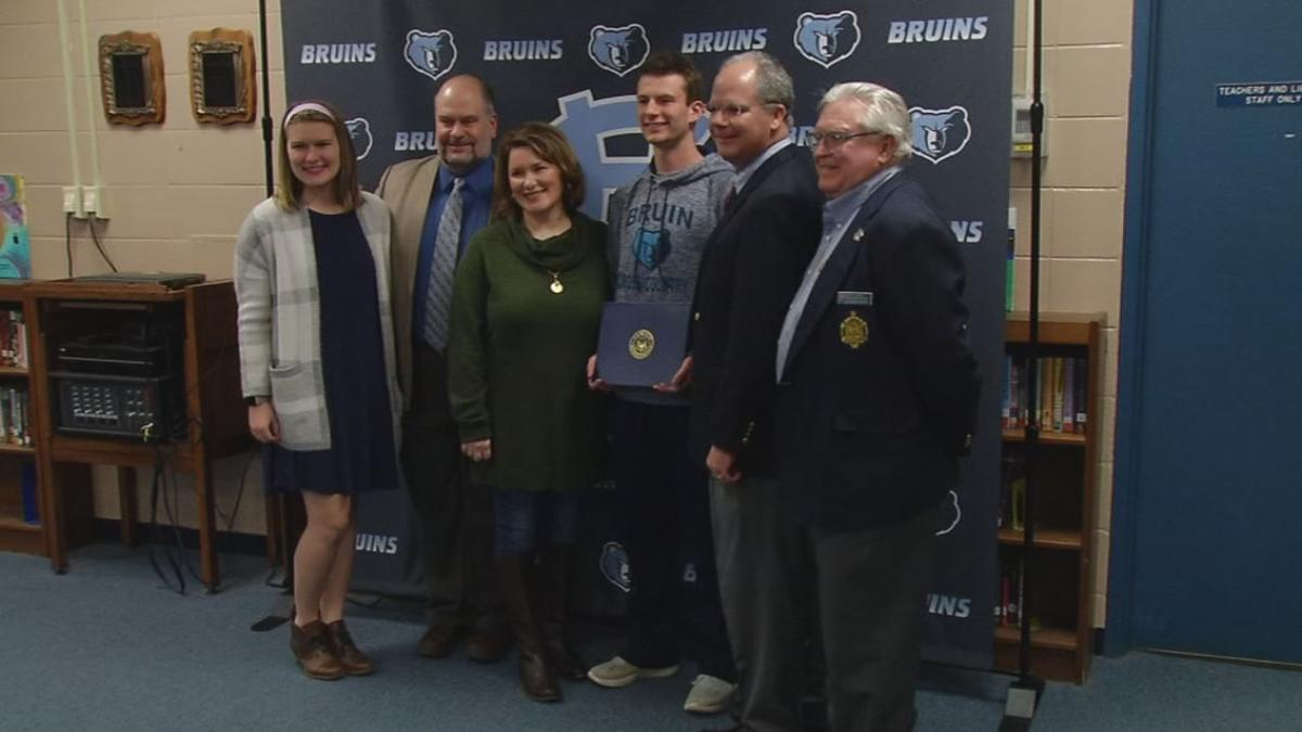 Central Hardin senior surprised with acceptance into US Naval Academy