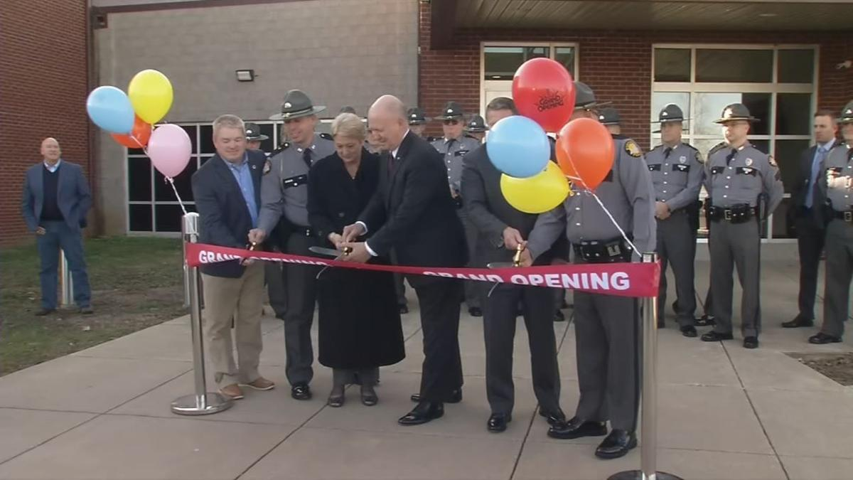 Kentucky State Police (KSP) hold ribbon-cutting for new Elizabethtown post (Jan. 7, 2020)