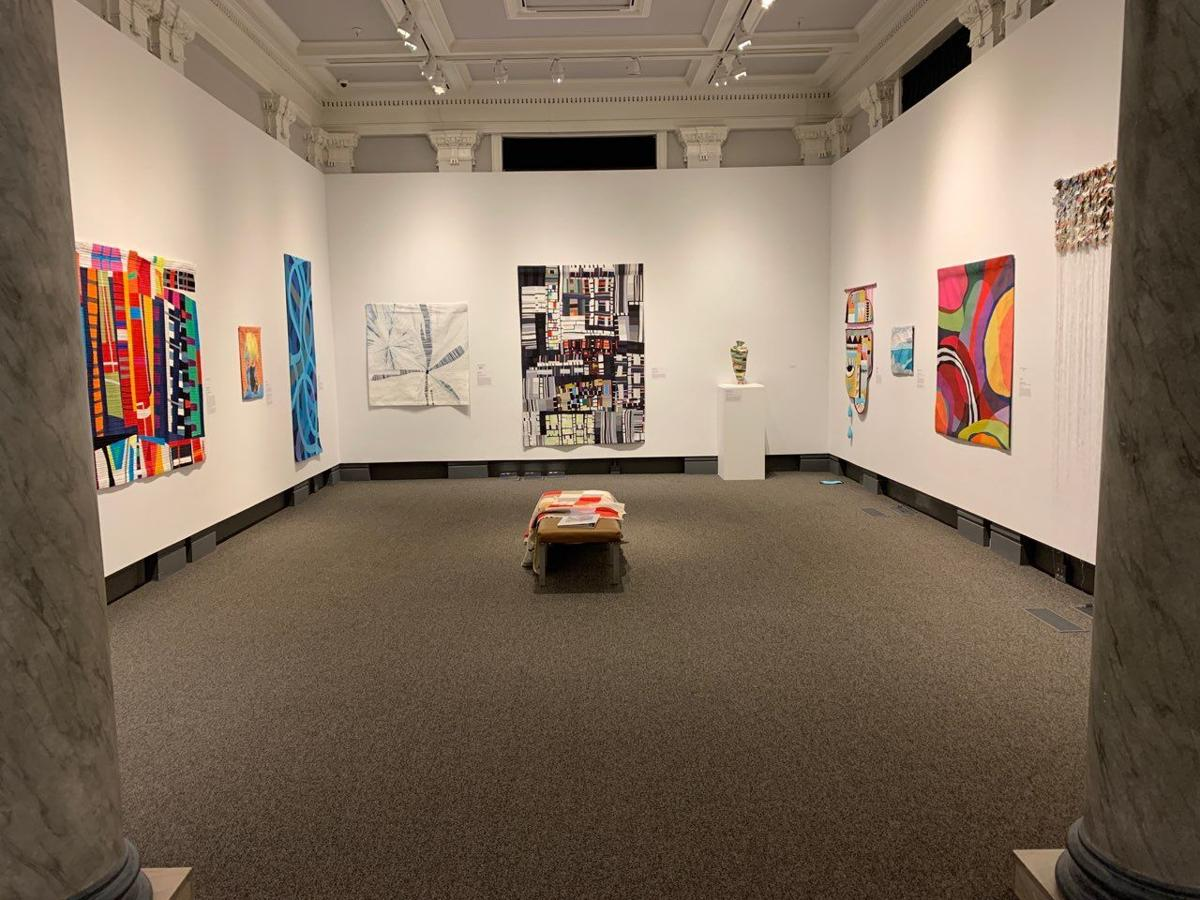 Quilts at Carnegie Center for Art and History KK