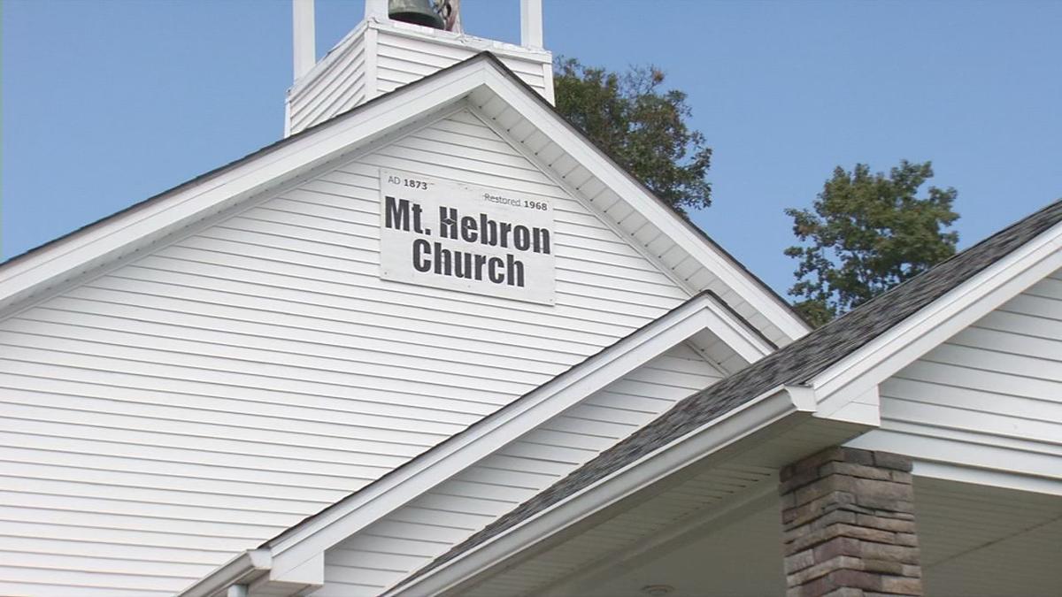 Mt. Hebron Church in Scottsburg