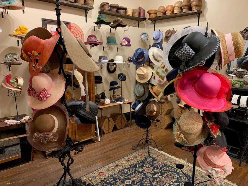 It's a one-of-a-kind hat making experience at Formé Millinery Hat Shop