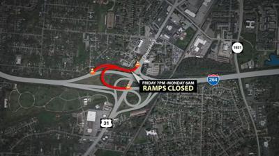 Dixie Highway ramp closure 6-26-20.png