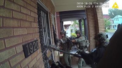 LMPD raids home