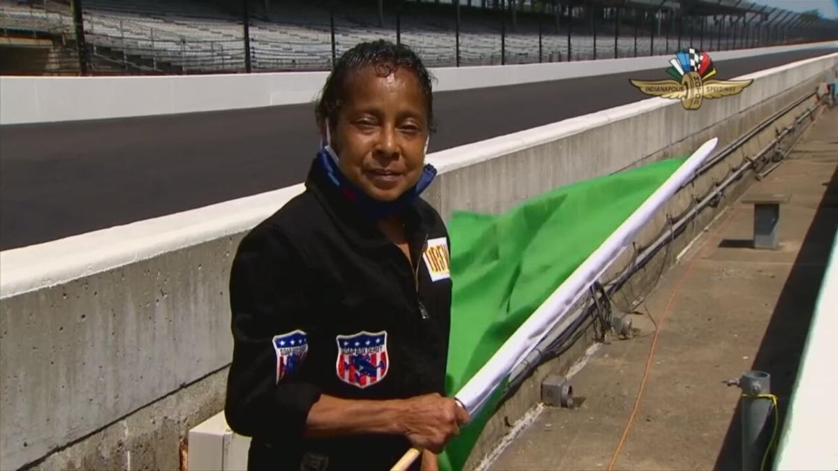 Derbra Houston, 59, is known as the soap box derby racing, cancer-fighting grandma.