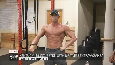 Competitors get physical at the Kentucky Muscle Strength & Fitness Extravaganza