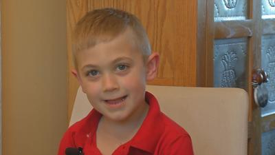 Bullitt County kindergartner opens lemonade stand to help police officers