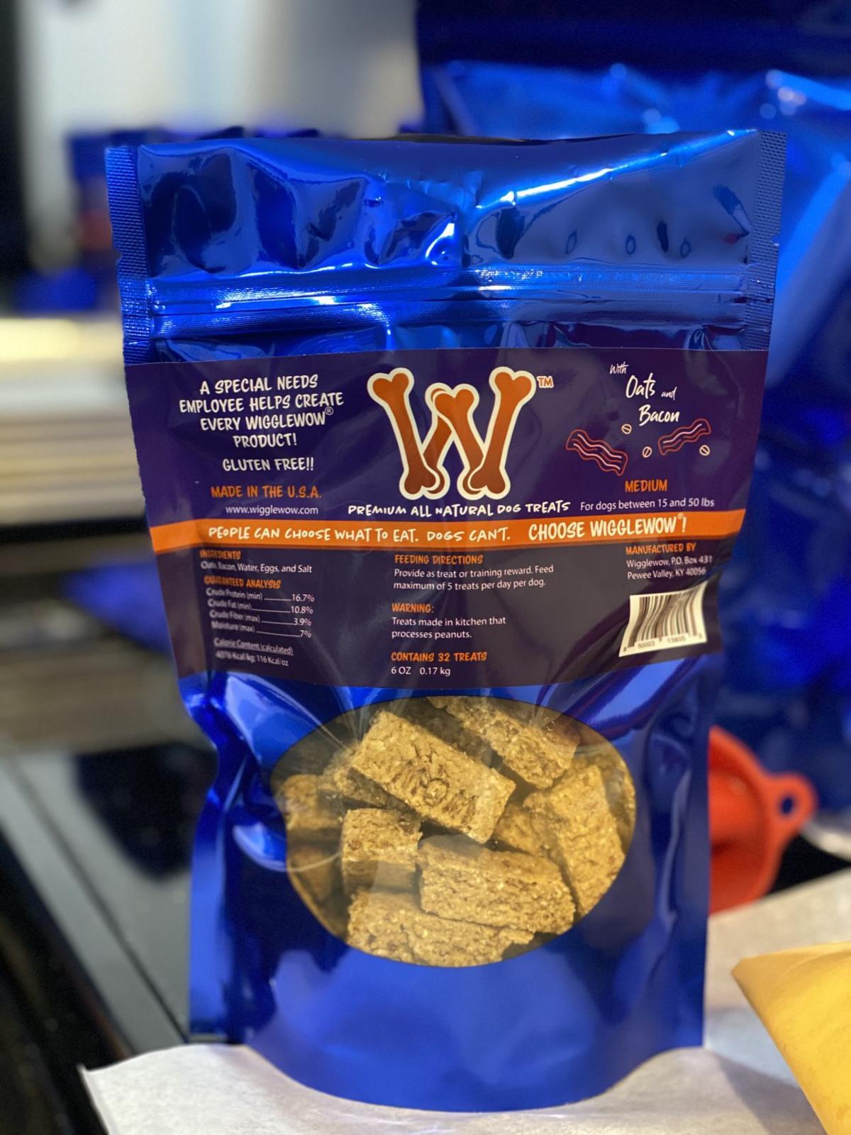 Wigglewow makes homemade dog treats
