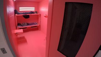 Jennings County pink jail cells