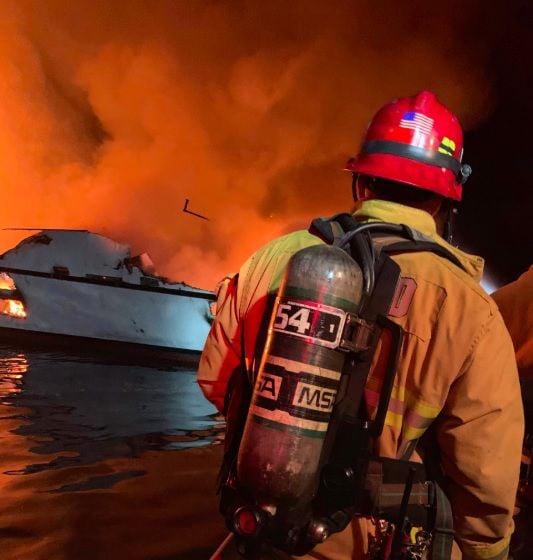 4 die, 29 missing in California dive boat fire