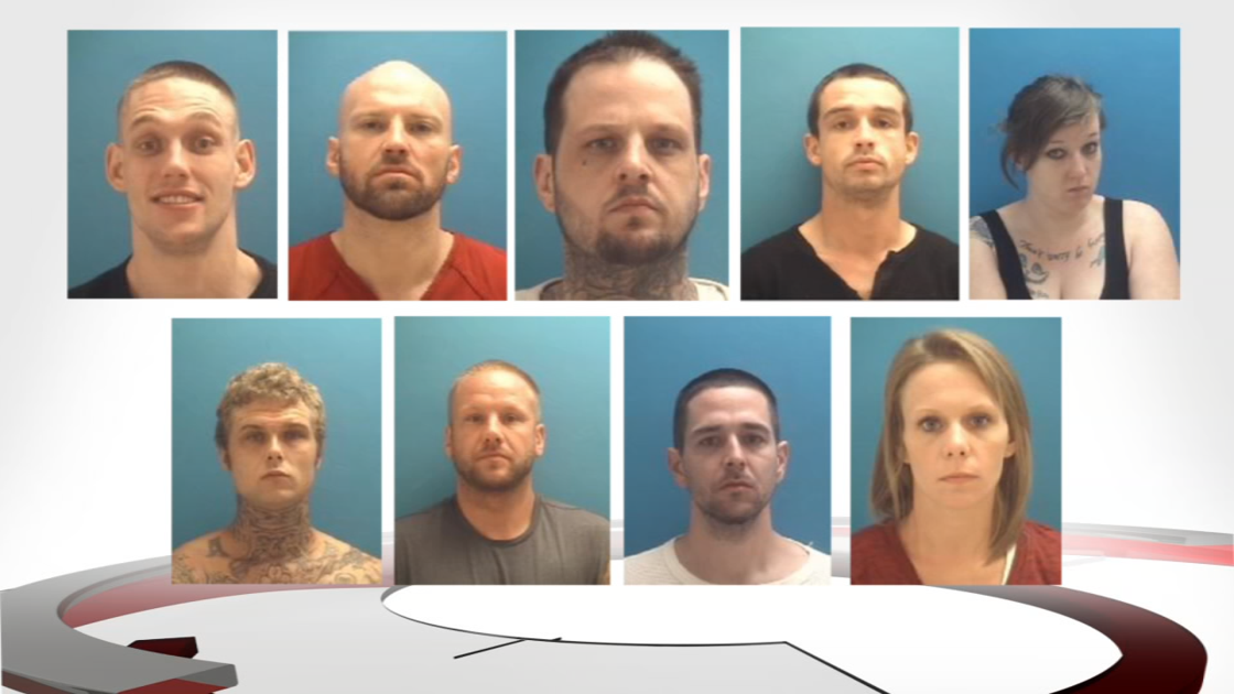 9 people linked to Aryan Brotherhood arrested after