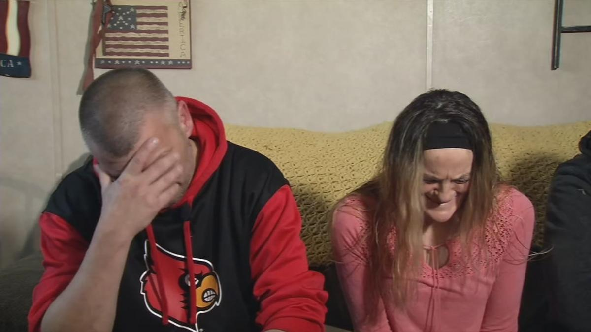 Brian and Jackie James, parents of Brooklyn James, who was killed in a crash on Jan. 9, 2020.