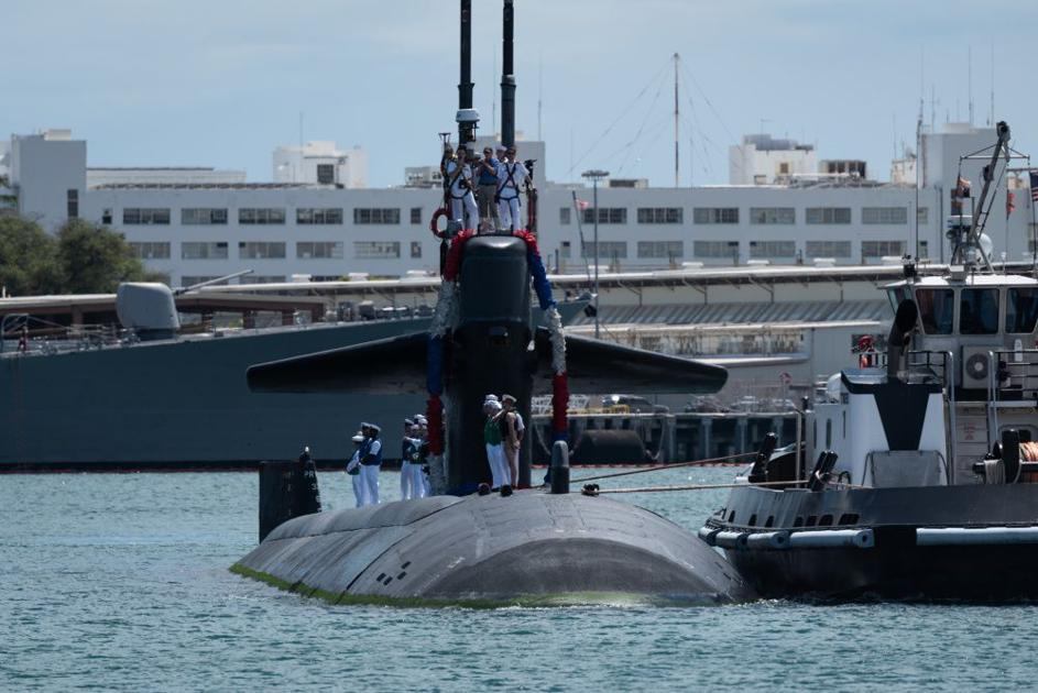 USS Louisville makes final stop in Hawaii before being decommissioned