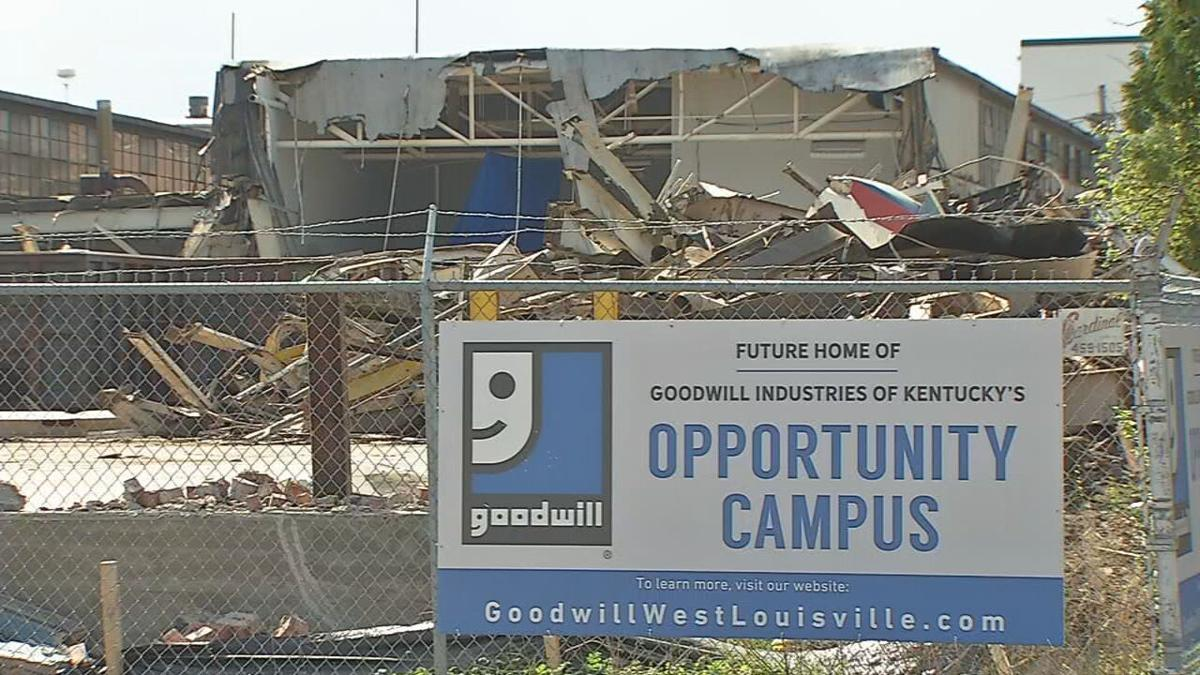The site of Goodwill's Opportunity Campus in west Louisville