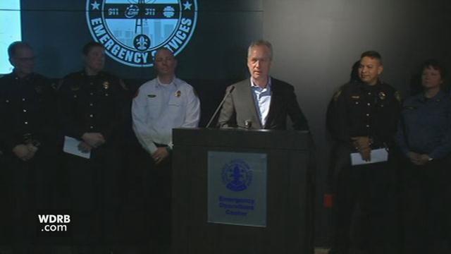 WATCH LIVE: 11 a m  : Mayor Fischer updates city response to winter