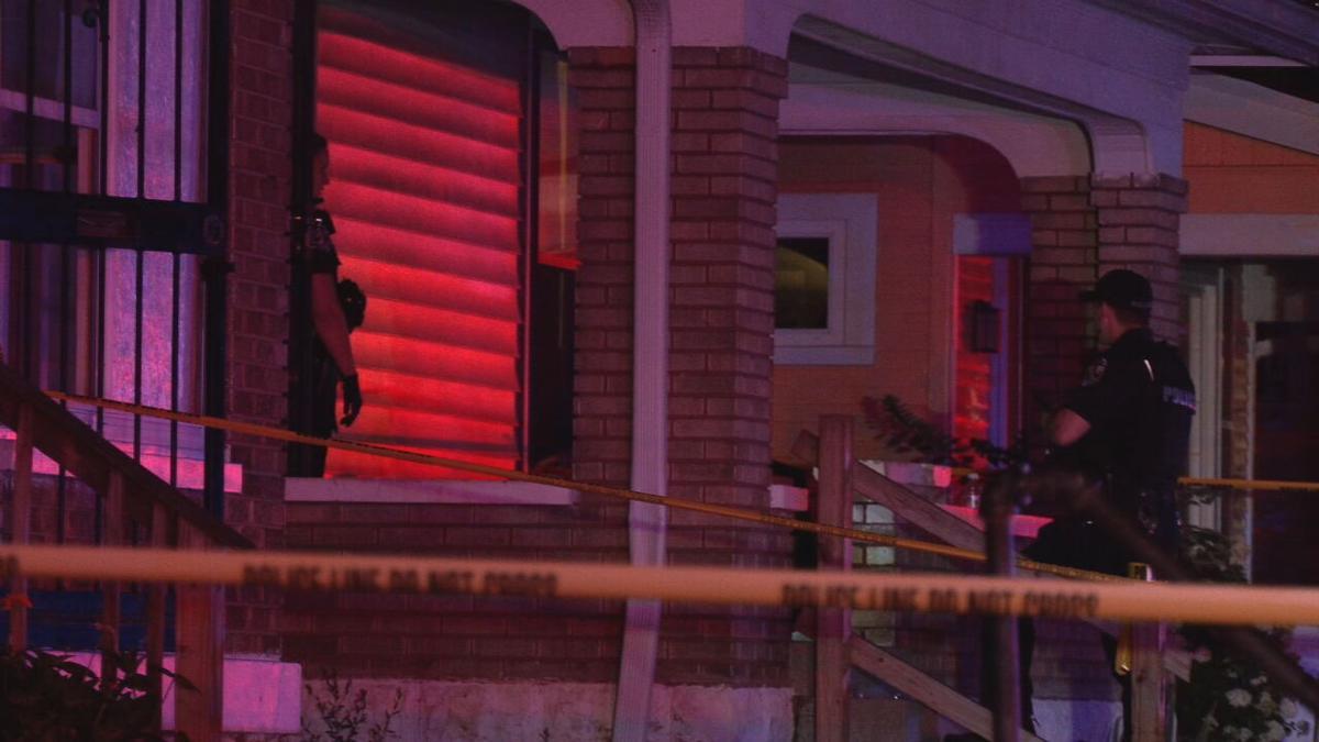 Cecil Avenue Shooting Scene - 7-22-21