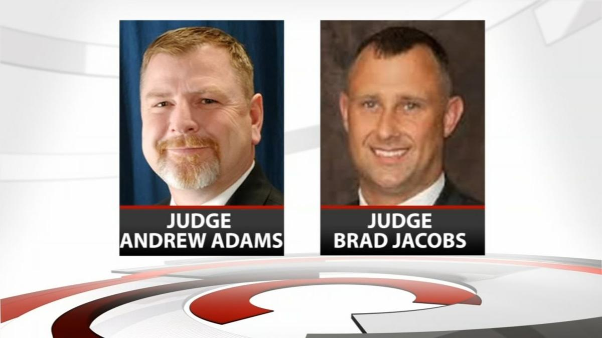 Judge Andrew Adams and Brad Jacobs