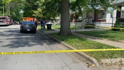 Scene of May 27, 2021 shooting near Central Avenue and Taylor Boulevard