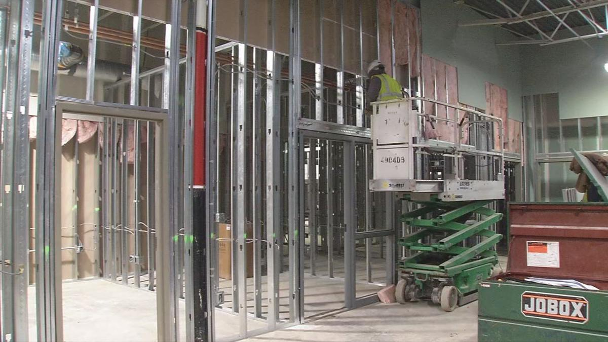 Construction: Dare to Care community kitchen in Louisville's Parkland neighborhood - Feb. 12, 2020