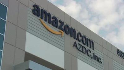 Amazon warehouse in Jeffersonville's River Ridge