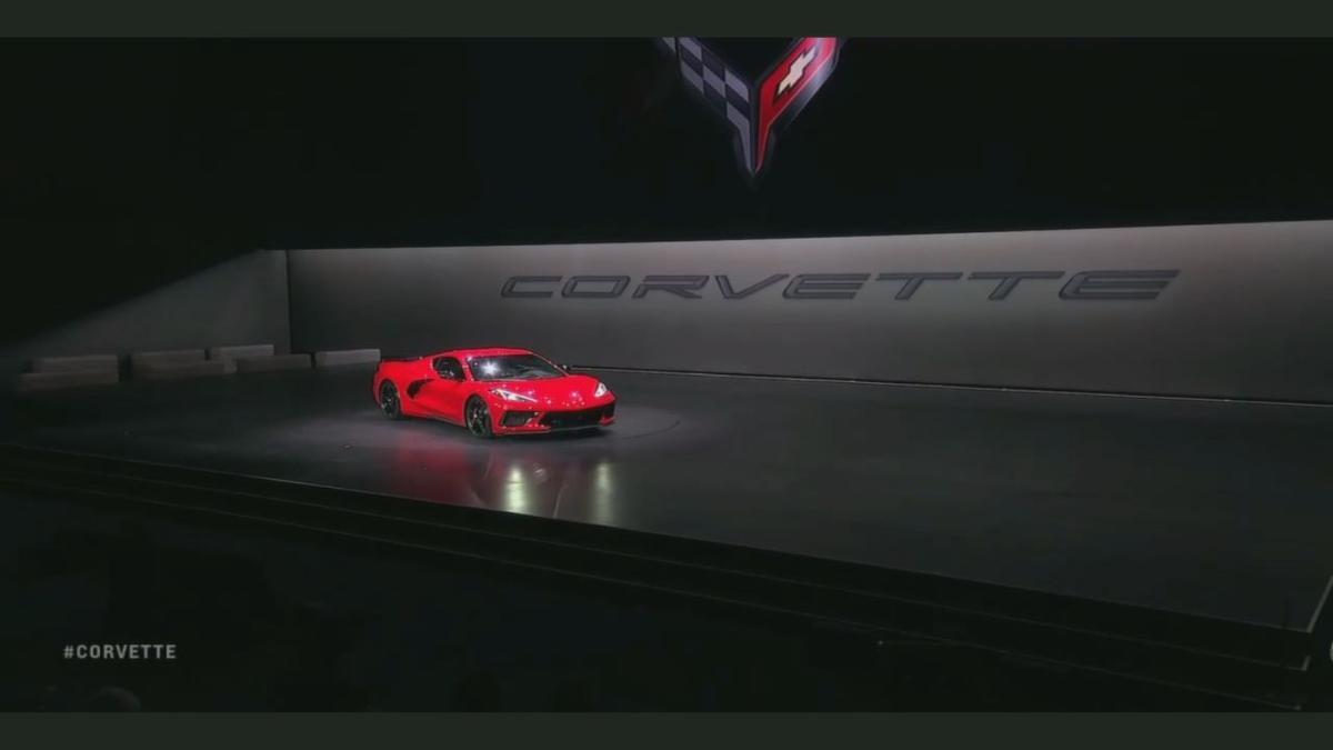 First 2020 Corvette