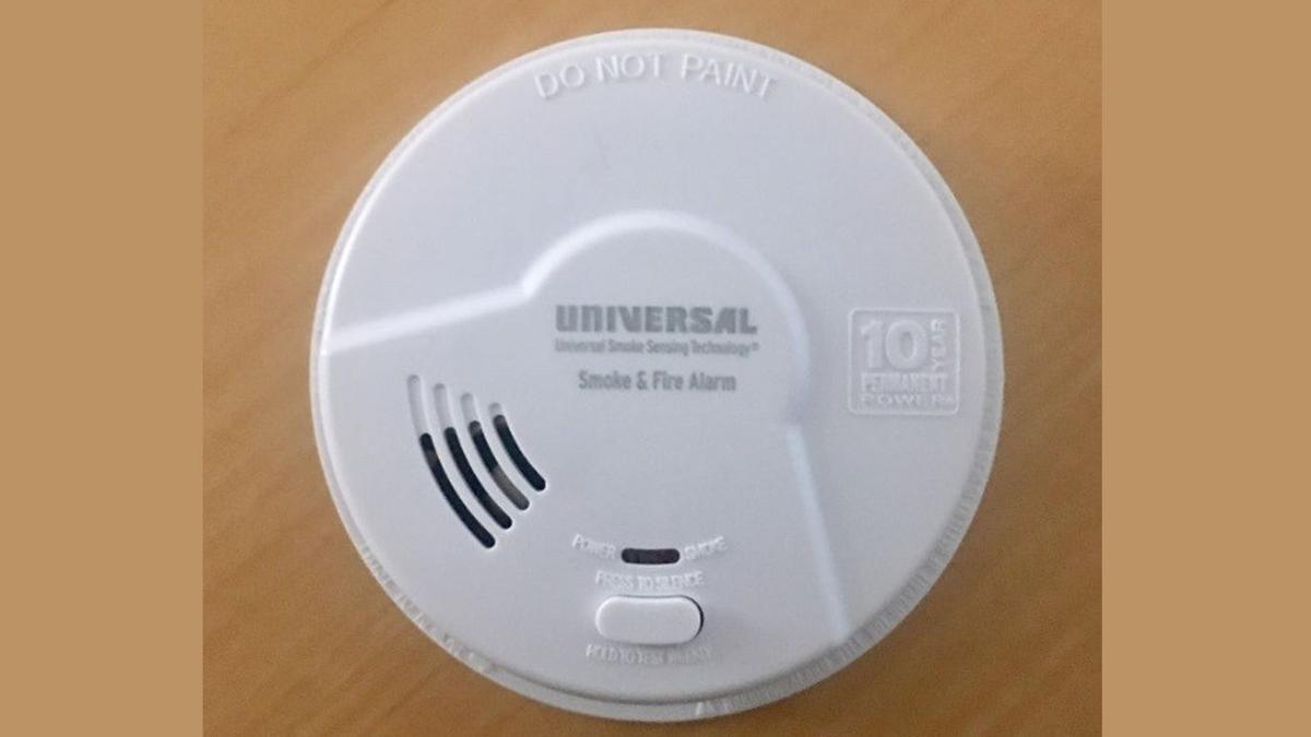 Universal smoke alarm involved in July 2019 recall