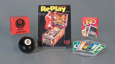 Toy Hall of Fame inducts pinball, Uno and the Magic 8 Ball for 2018