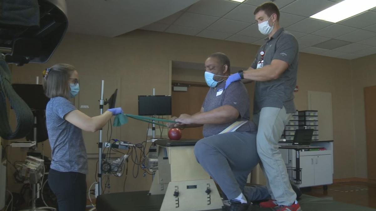 Chris Jackson at Frazier Rehab Institute