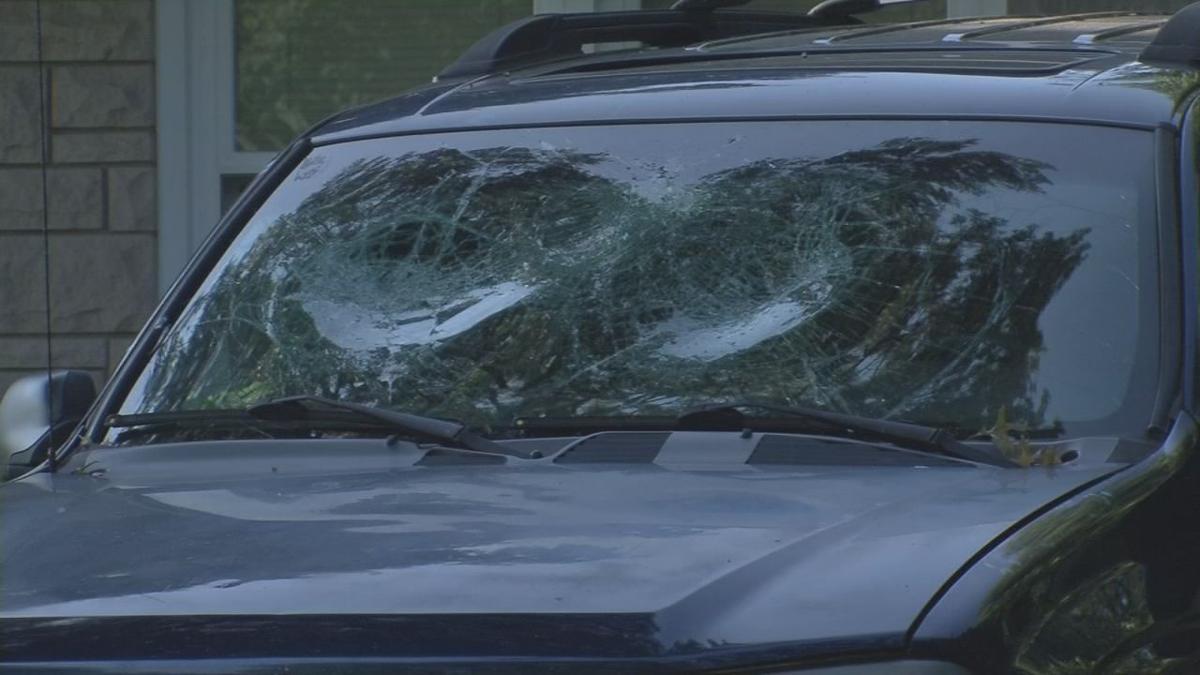 2017 stabbing car window broken