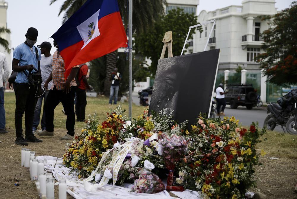 Grave for slain Haitian President Jovenel Moise | | wdrb.com