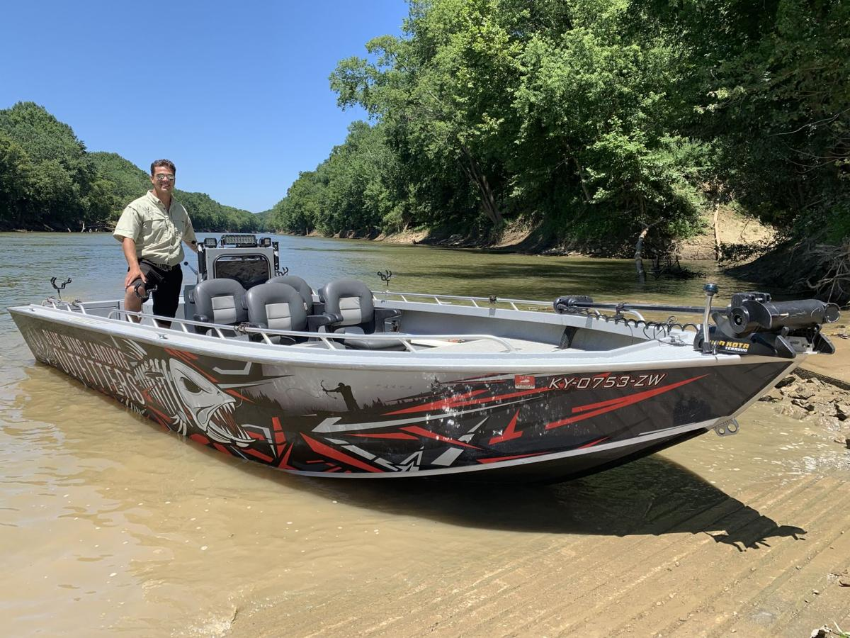 William Martin runs Blue Wing Landing Outfitters on the Kentucky River