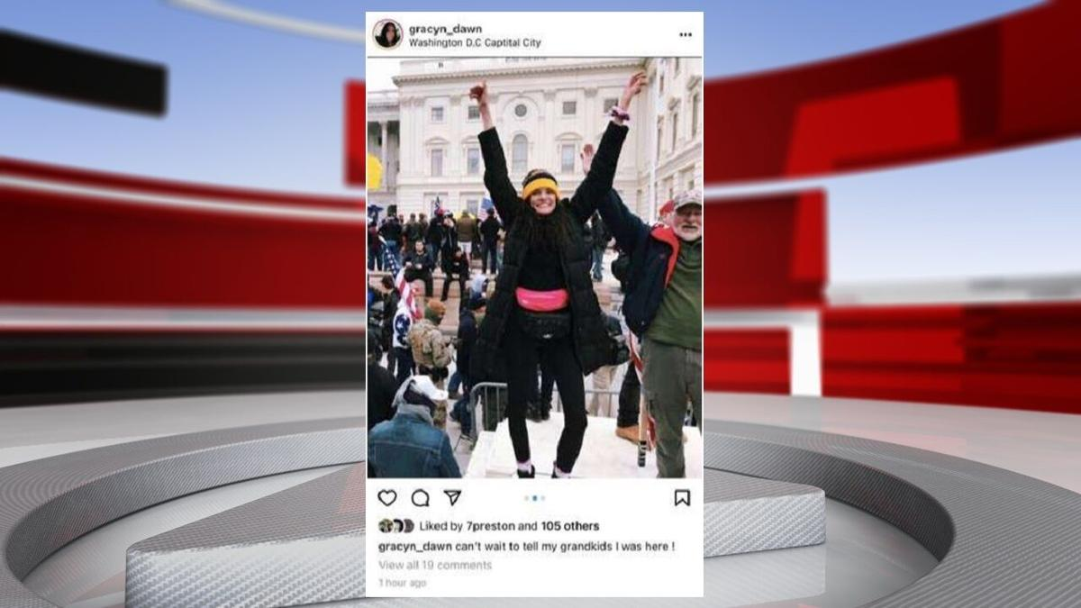 Gracyn Courtright-Instagram post at Capitol-FBI documents-SUMMARY.jpg