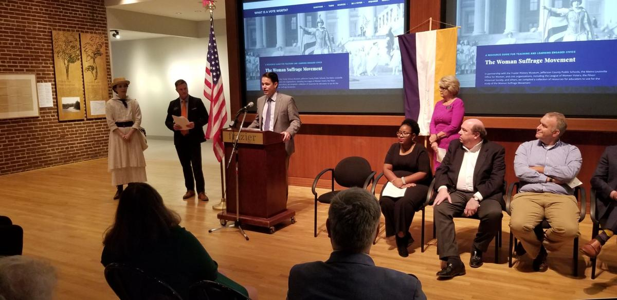 JCPS, Frazier partner to teach struggles to gain voting rights, register students to vote