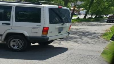 Several women in Iroquois neighborhood concerned after seeing man in white jeep exposing himself