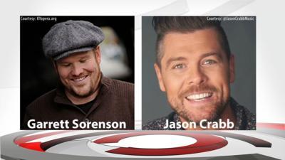 Garrett Sorenson and Jason Crabb