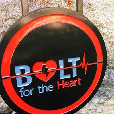 Bolt for the Heart logo